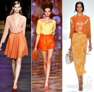Модные тенденции в одежде 2012