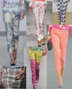 Модные штаны лето 2012