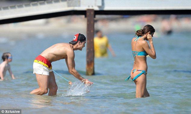 Кристиано Роналдо и Ирина Шейк