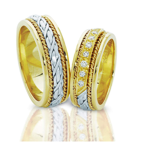 Где носят обручальные кольца